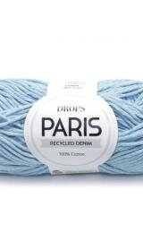 DROPS Paris 100 Lys Forvasket Recycled Denim