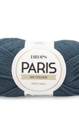 DROPS Paris Unicolor 48 Petrol