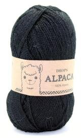 DROPS Alpaca Unicolor 8903 Sort