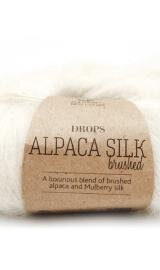 DROPS Brushed Alpaca Silk 01 Natur
