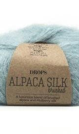 DROPS Brushed Alpaca Silk 15 Lys Søgrøn